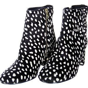 J Crew Collection Side-Zip Ankle Boots Booties